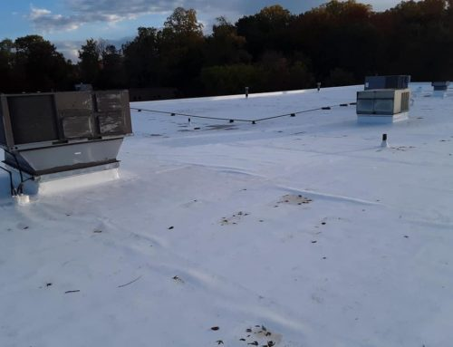 GAF TPO project near Bedford Heights, Ohio.